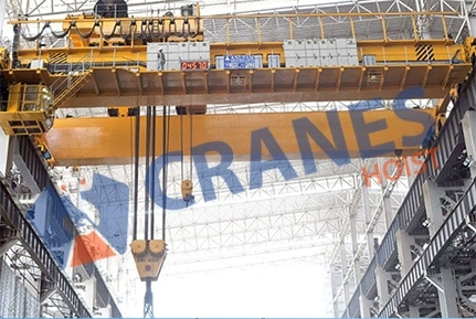 Eot Cranes for Steel Plants